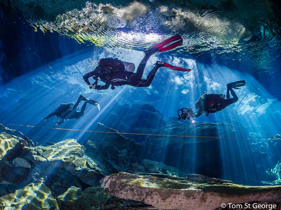 Tom St George proving why the Yucatan Cenotes should be on your bucket list. Like if you'd explore these natural water sources! (OM-D E-M5) https://t.co/51zJwX9gd1