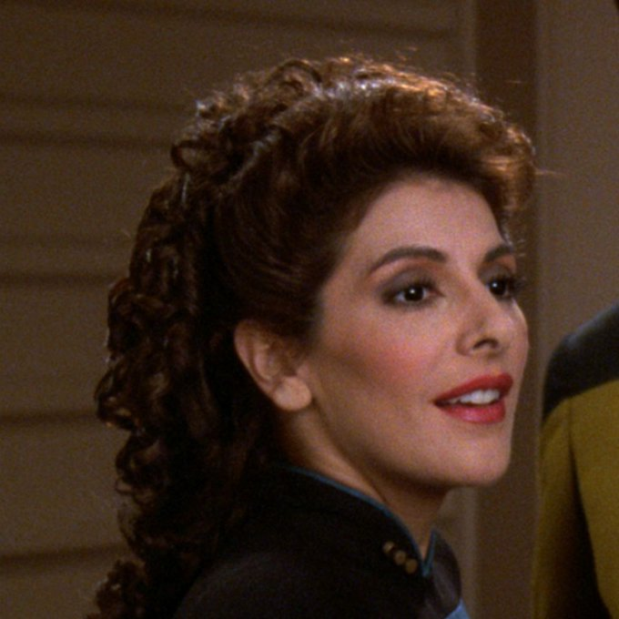 Happy birthday to the most intuitive member of Starfleet! we hope you have a wonderful day.