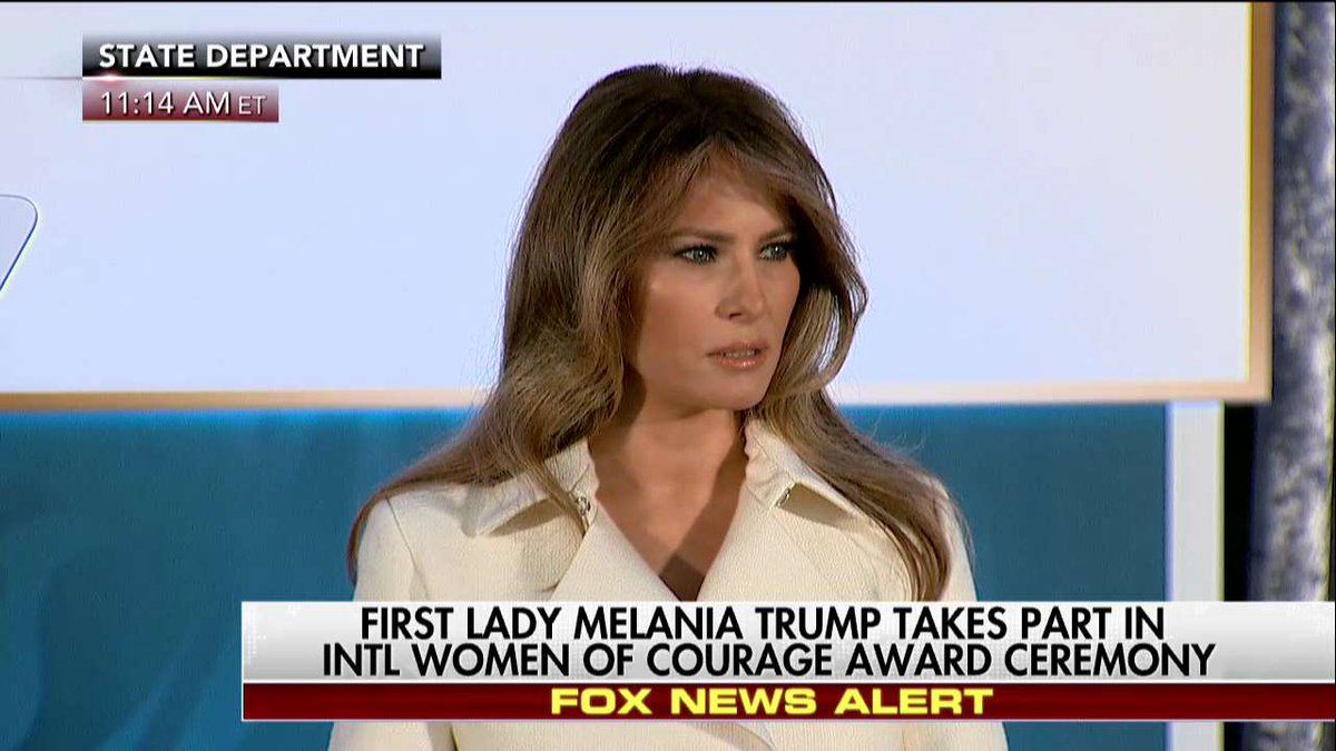 """.@FLOTUS """"We must continue to work towards gender empowerment and respect for people from all backgrounds."""""""