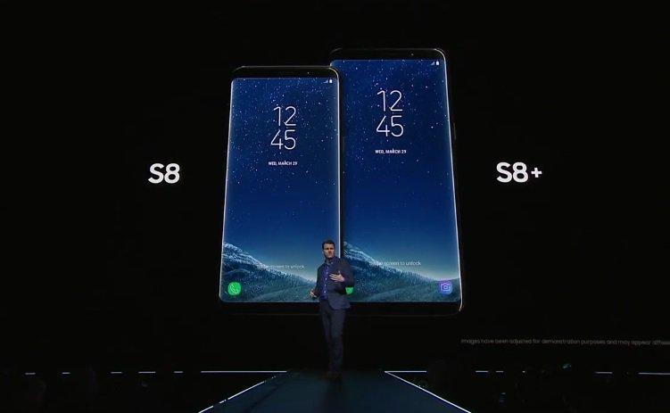 Samsung、「GALAXY S8/S8+」を発表 2サイズで物理ホームボタンは廃止 イヤフォンジャックは搭載
