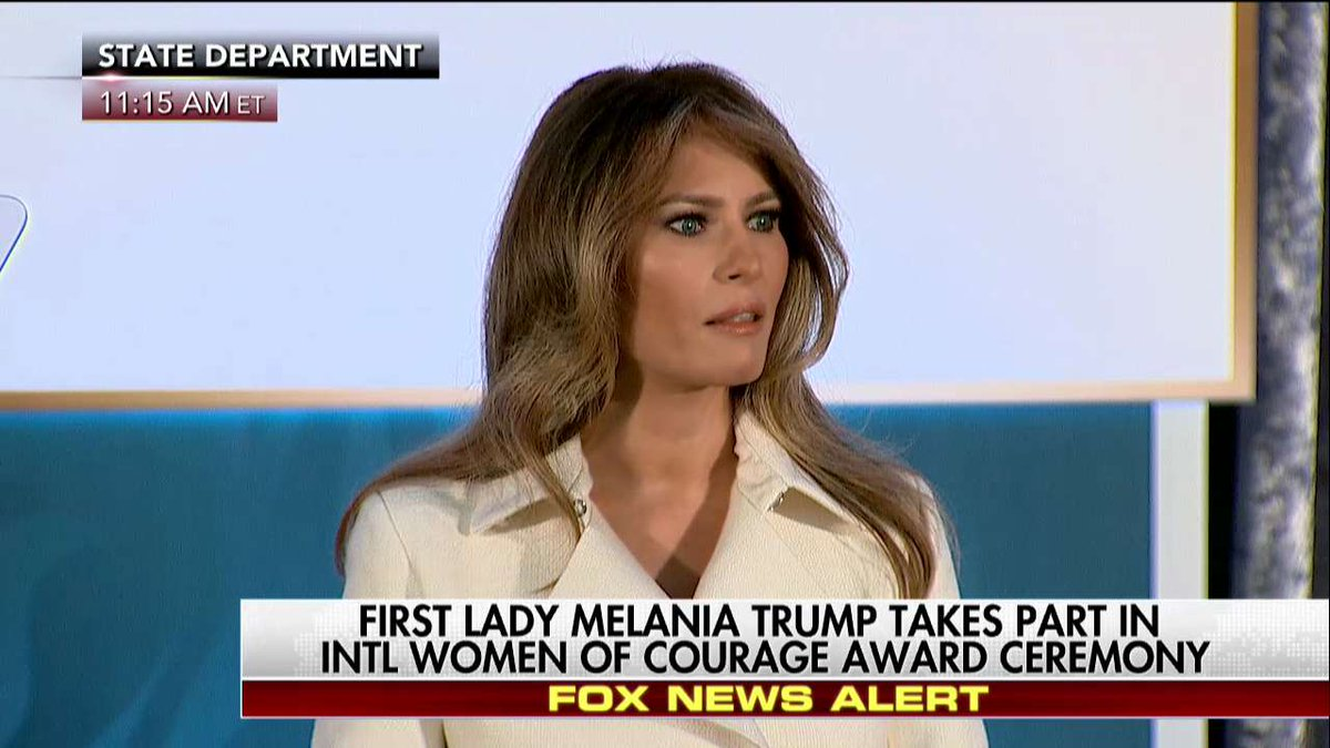 """.@FLOTUS """"We are all ultimately members of one race. The human race."""""""