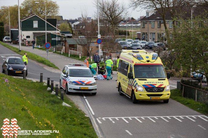 Ongeluk met gewonde onderaan de Maasdijk https://t.co/0Z4YXV7X0p https://t.co/pDaQAV7j6B