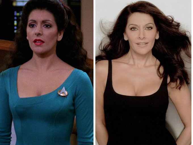 Happy birthday Marina Sirtis!
