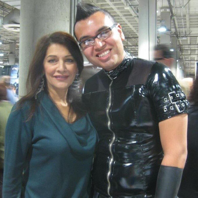Happy birthday, ! 2011, still the best memory I have of meeting at Comikaze! Such a lovely person!