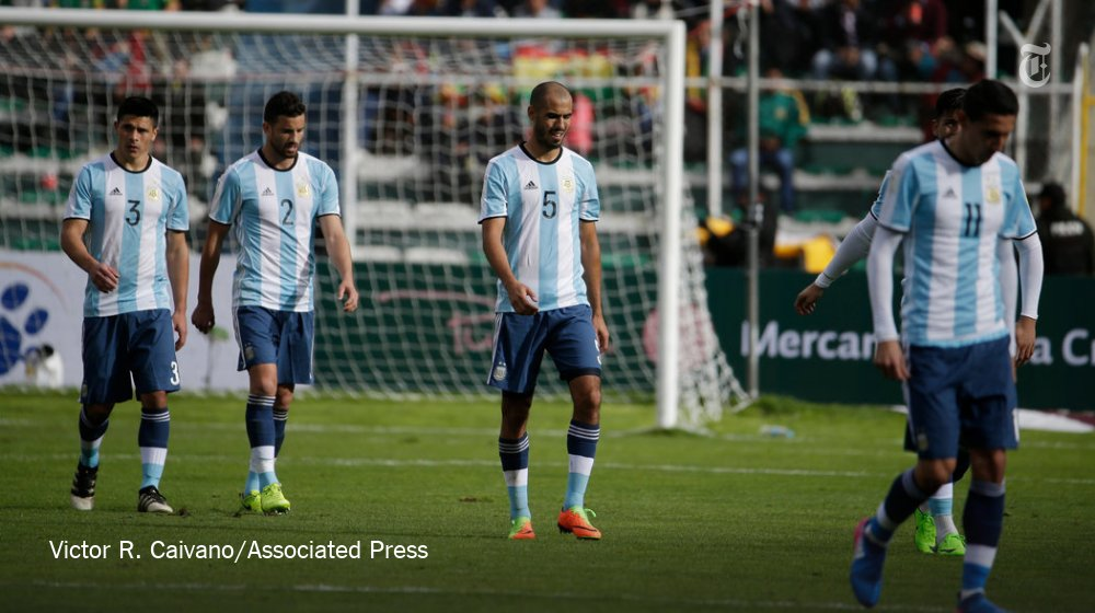 Could Argentina (and Lionel Messi) actually miss the World Cup?