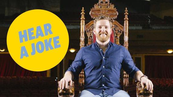 Comedy Festival 2017: Comedian Nick Cody's favourite joke