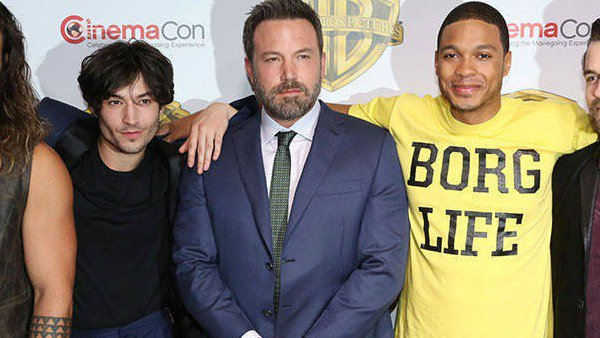Ben Affleck surprises CinemaCon with his first official appearance since rehab admission: