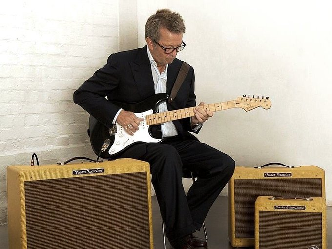 Happy birthday Eric Clapton, Thank you for the wonderful songs!