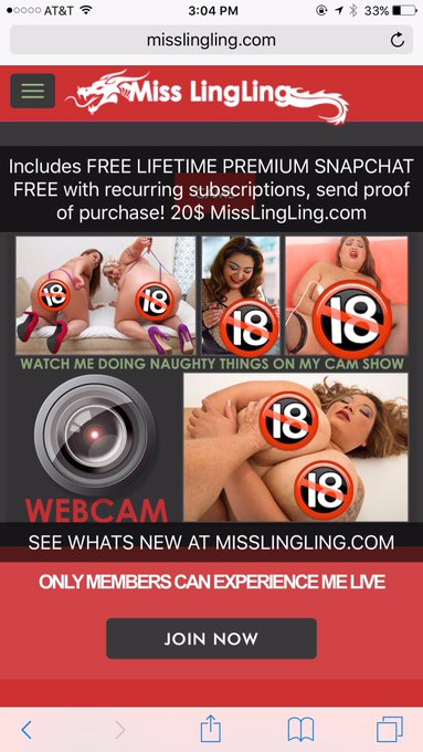 3 pic. https://t.co/KysuuUpr7Q  3 clicks 👆🏼 to nominate Miss LingLing for @Xbiz Cam Awards #BBW Cam Model