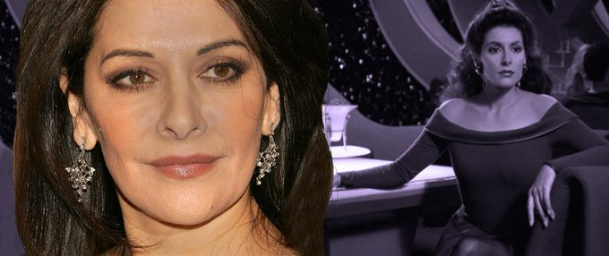 Join us in wishing a Happy Birthday to Marina Sirtis!