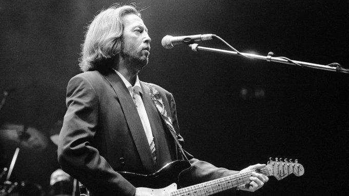 Happy Birthday Hoy cumple 72 años el legendario guitarrista Eric Clapton.
