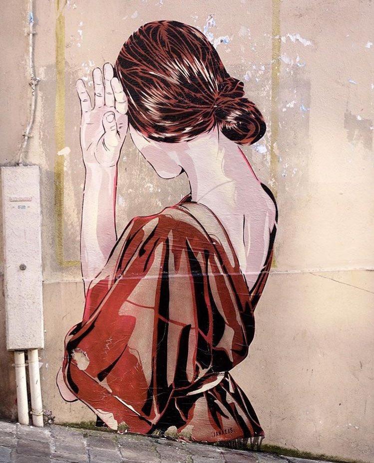Street Art by Jana & Js  #streetart #art #arte