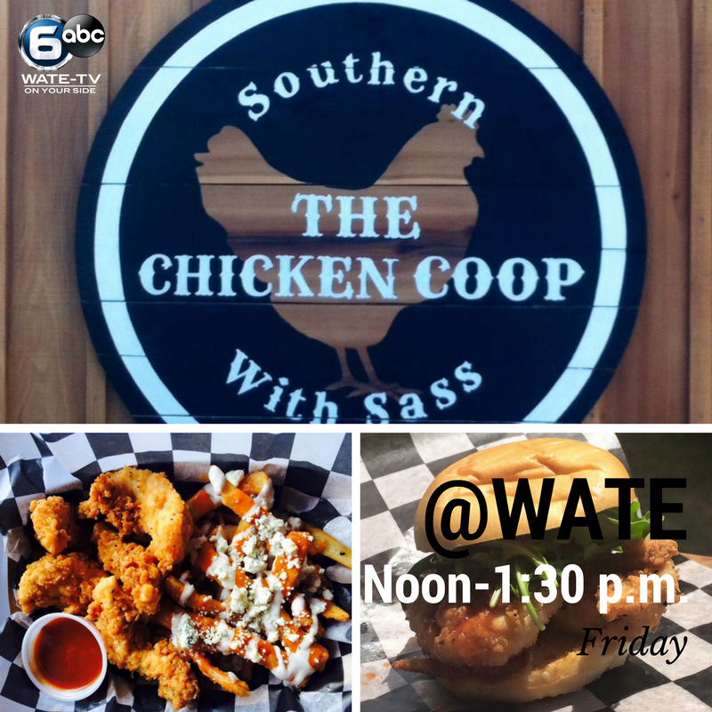 Food The Chicken Coop Food Truck Will Be At Wate Today For Lunch