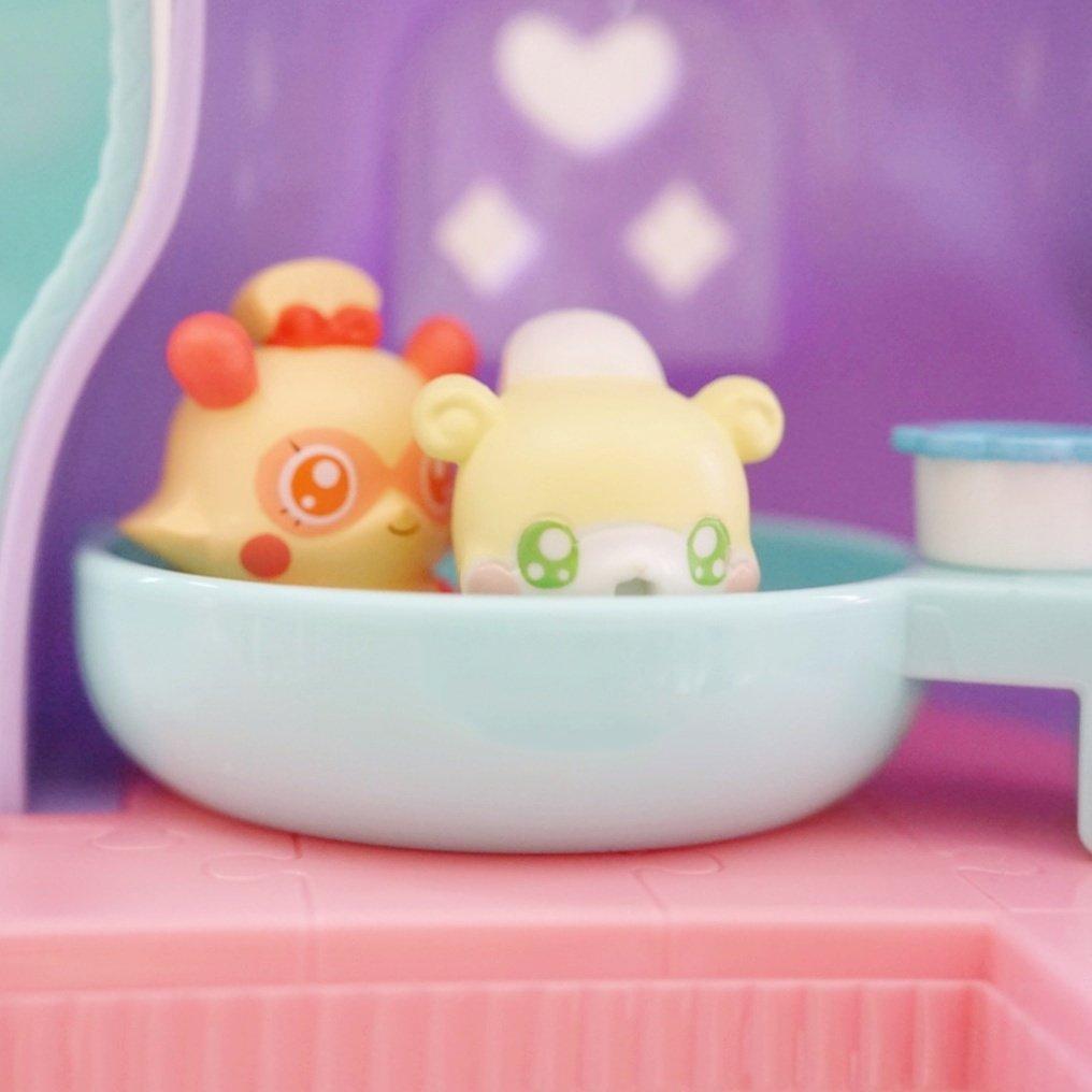 娘が二人をお風呂に入れてた😍#cocotama