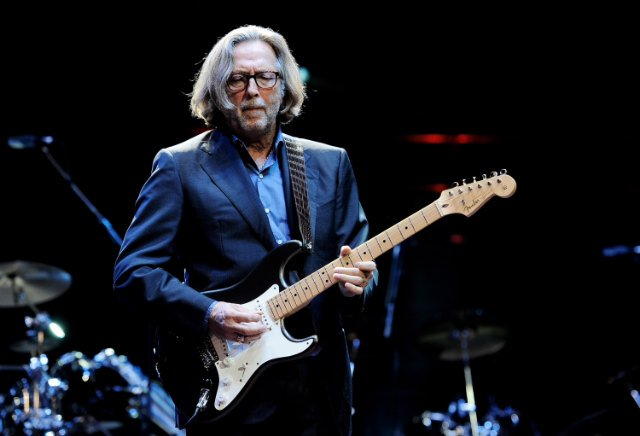 Happy Birthday to the legend Eric Clapton 72 today and still rocking!