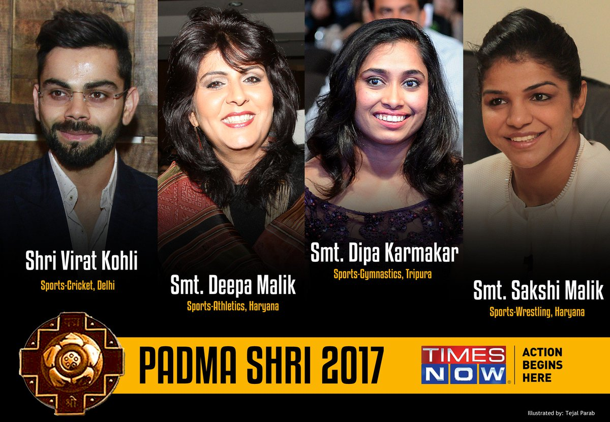 Some prominent ones who won this year's Padma Shri Award