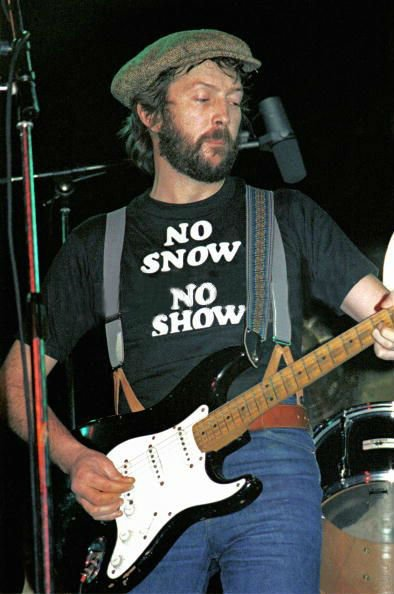 Happy 72nd birthday to Eric Clapton. I hope you get to do all the cocaine you want today. You earned it.