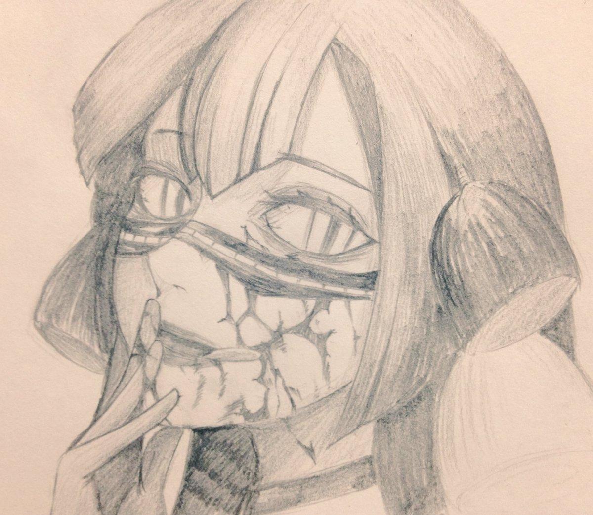 ナッツクラッカー描きました漫画で顔だしたとき不覚にも可愛いと思ったッス#東京喰種 #東京喰種好きと繋がりたい #イラスト