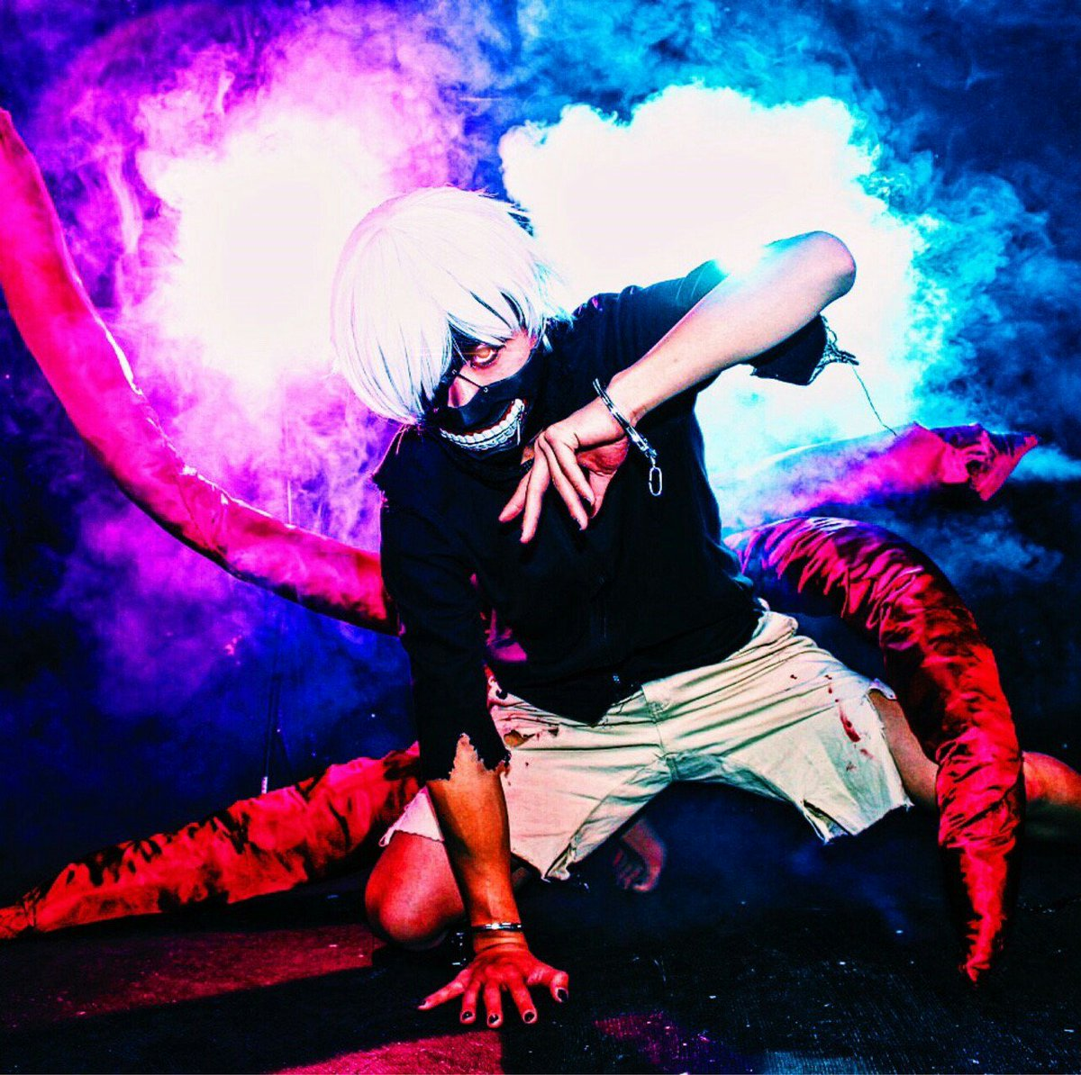 【Cosplay】3/26 クロームスタジオ東京喰種/金木 研スモーク撮影をしてきました!!素敵なお写真をありがとうござ