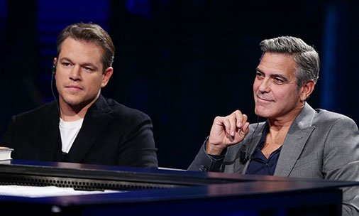 Matt Damon gives his verdict on what kind of dad George Clooney will be: