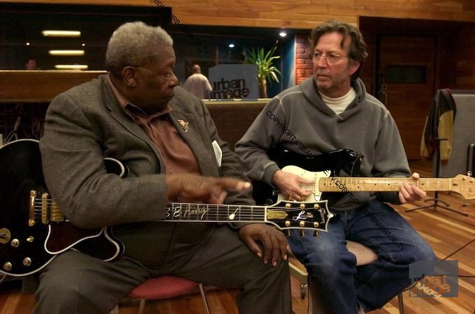 Happy Birthday Eric Clapton. Eric made many visits to in Barnes, in 2005 he brought BB along.