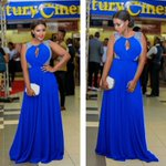 This Woman's Dress Can Buy You A Plot In Kitengela, Na Upeleke Clande Shopping (PHOTO)