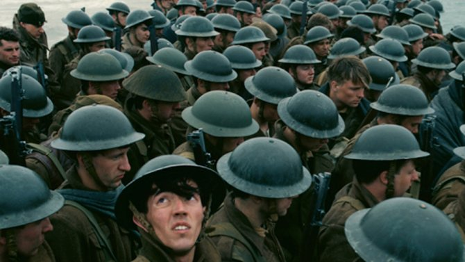 Christopher Nolan's epic war drama Dunkirk stuns