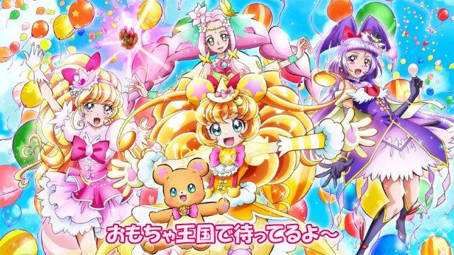 4月2日におもちゃ王国で『キラキラ☆プリキュアアラモード ショー』が開催、会場には魔法つかいプリキュアのキュアミラクル、