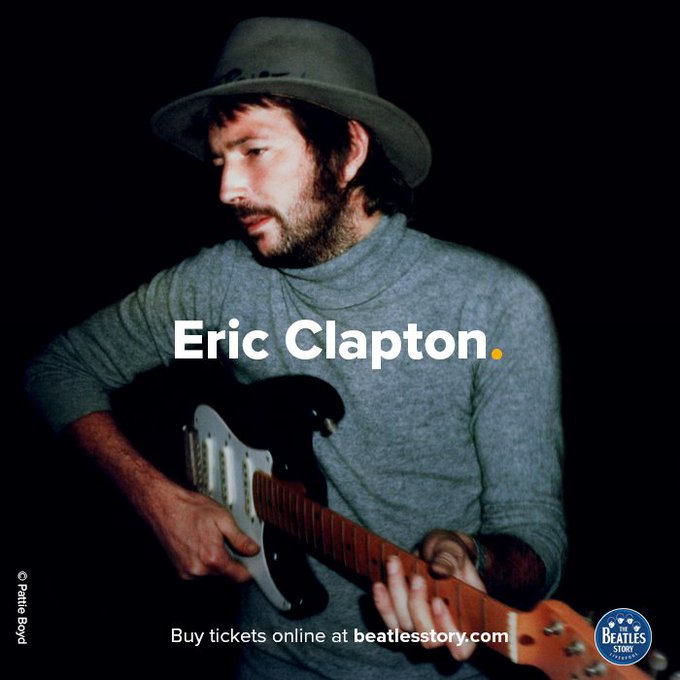 Happy Birthday to musician and close friend of The Beatles, Eric Clapton!