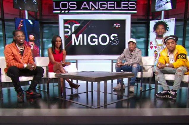 Watch @Migos break down The Dab's origin on ESPN's