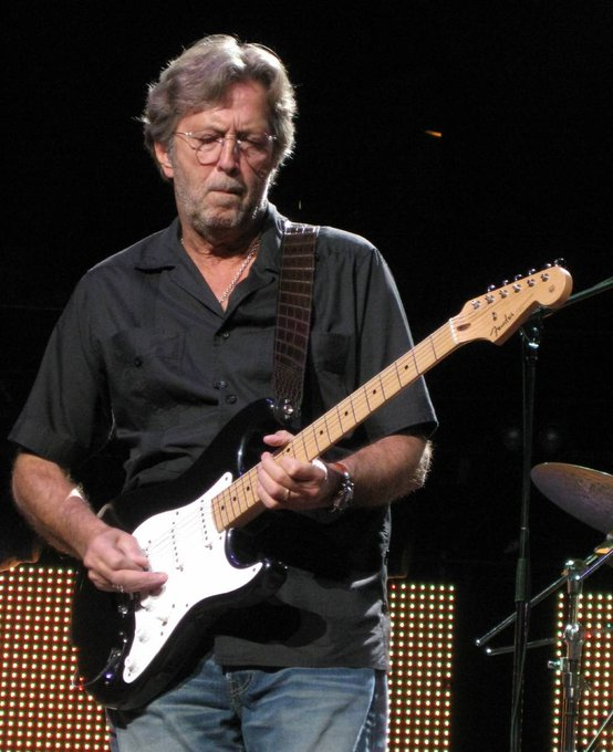 Happy 72nd Birthday to Slowhand himself, Eric Clapton!