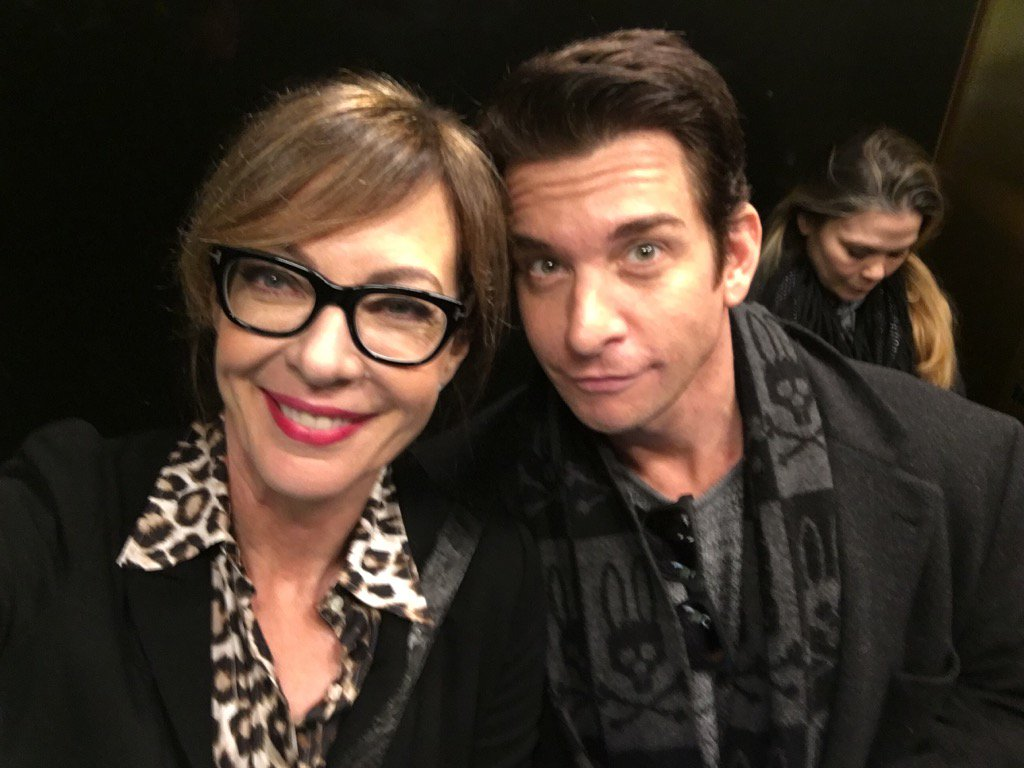 Look who I ran into! #9to5 reunion on @taketwo https://t.co/xnjhbC70zc @Andy_Karl ���� https://t.co/rhbP7FWr9U