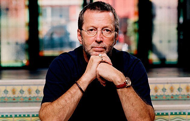 Happy Birthday Eric Clapton! Photo credit: Lester Cohen