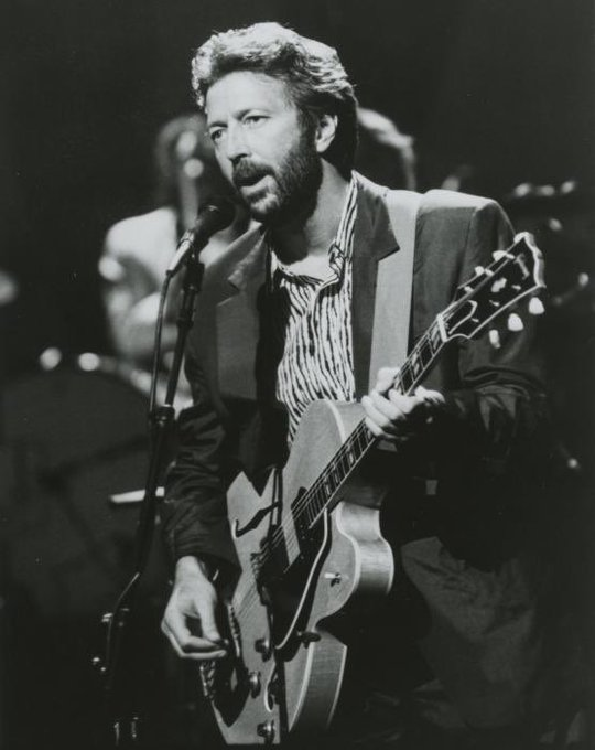 Happy birthday to Eric Clapton, true rock icon.