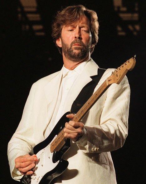 Happy 72nd Birthday to Eric Clapton