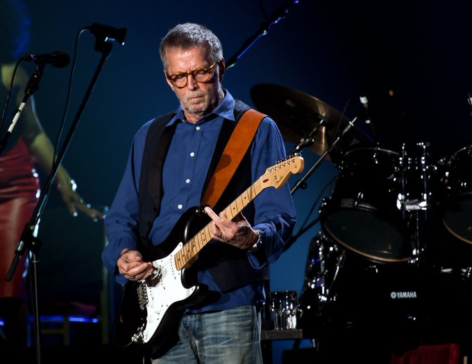 Happy Birthday to Eric Clapton!