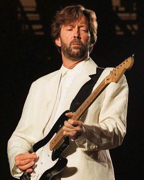 Happy birthday Mr. Eric Clapton !!!  Best blues man ever !!!