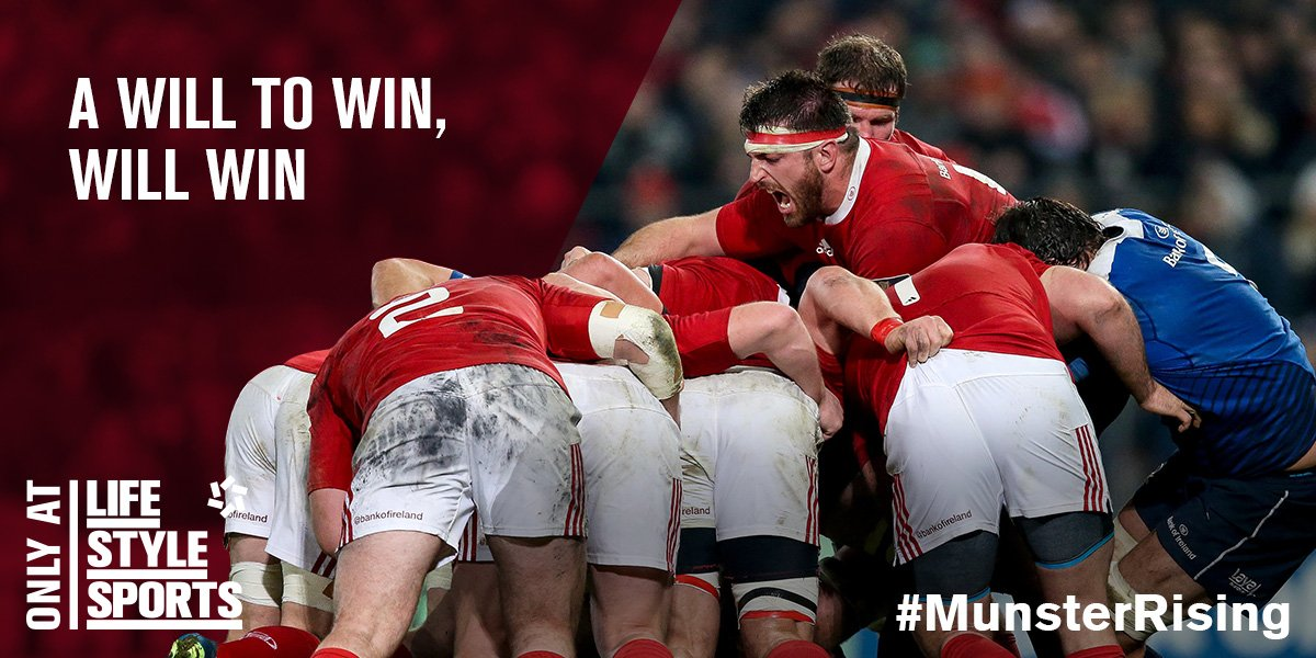 You can french kiss your dreams away Toulose, this Red Army isn't going anywhere. #MunsterRising https://t.co/kAdfCi7h1S