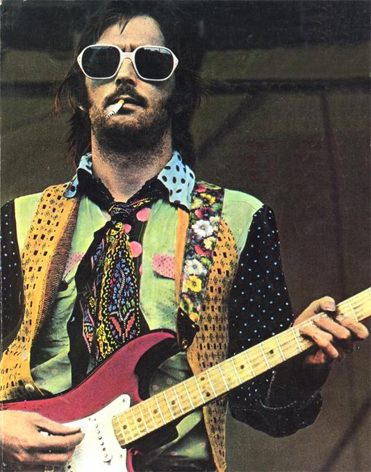 Happy Birthday shoutout to fashion guru Eric Clapton.