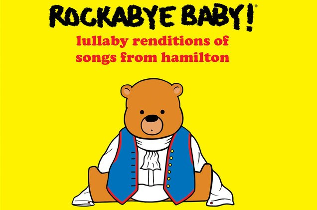 .@RockabyeBaby premieres 'Lullaby Renditions of Songs From Hamilton' (exclusive) https://t.co/NXAASpozQS https://t.co/SsnbhtP1WL