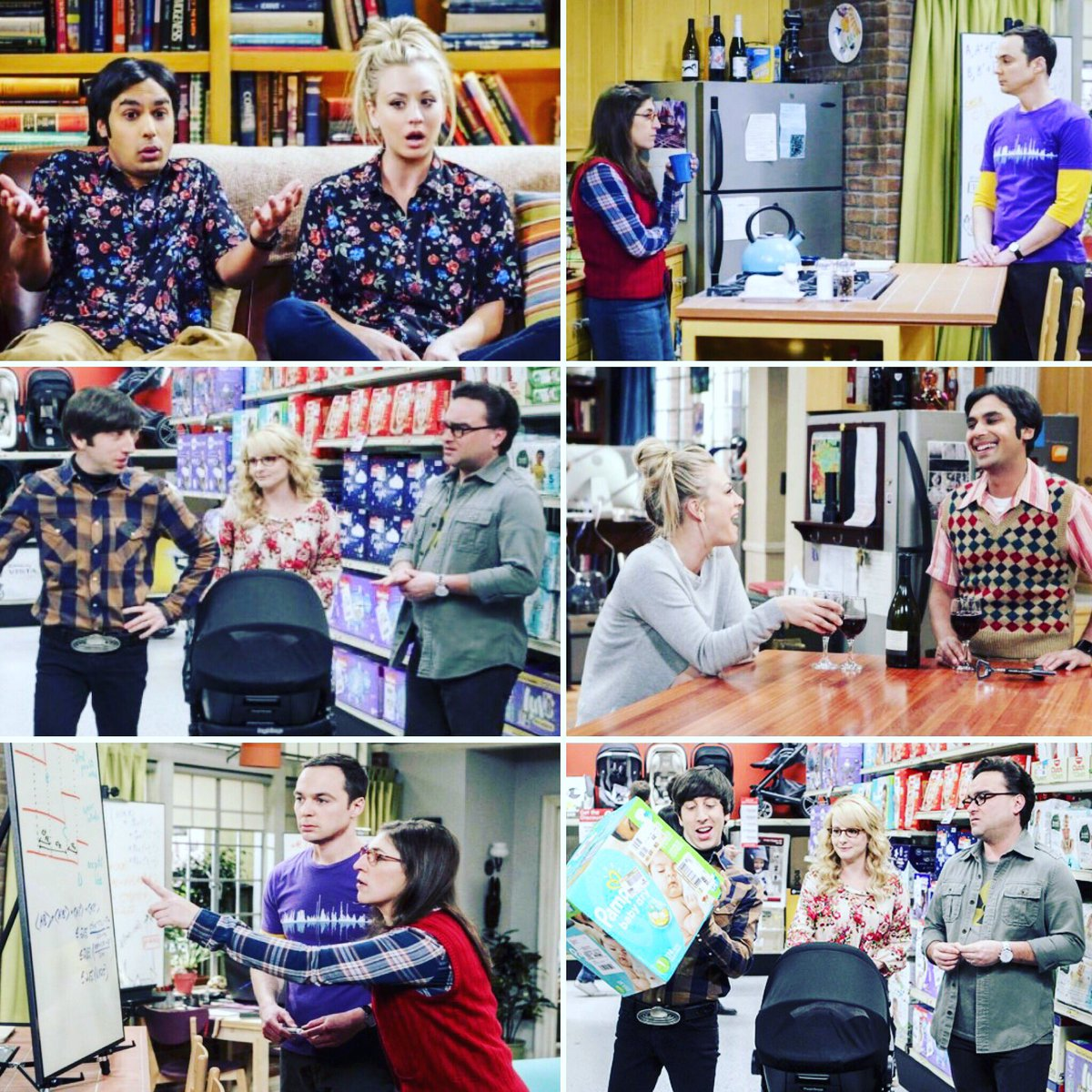 If you wanna get your laughs on - there's an awesome new @bigbangtheory tonight!!! https://t.co/e61i7UWPf8