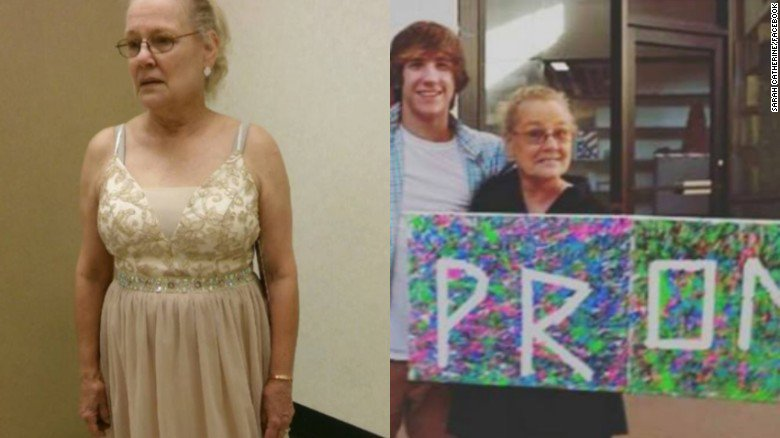 Teen wants to take his grandma to prom, but his high school says no