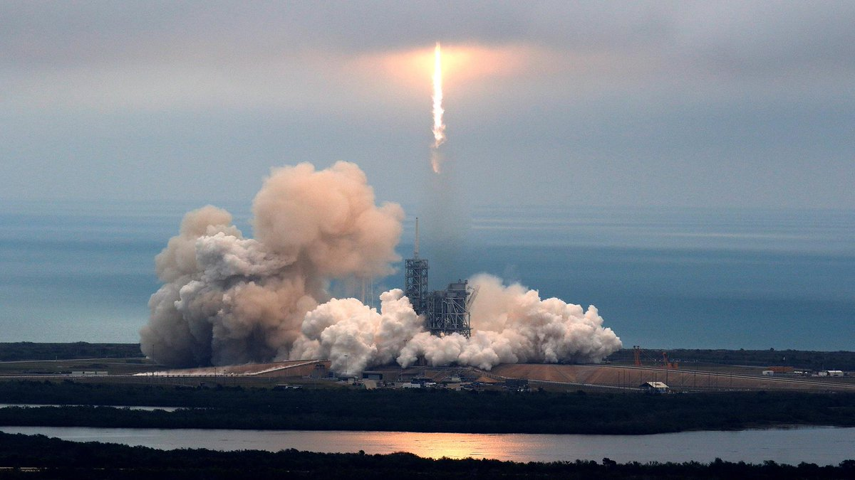 """WATCH LIVE: SpaceX launches first """"reflight"""" of an orbital class rocket known as Falcon 9"""