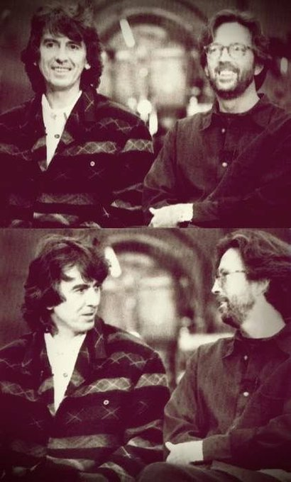 Happy Birthday to the legendary, Eric Clapton. Here\s some of my favorite pictures of him with The Beatles