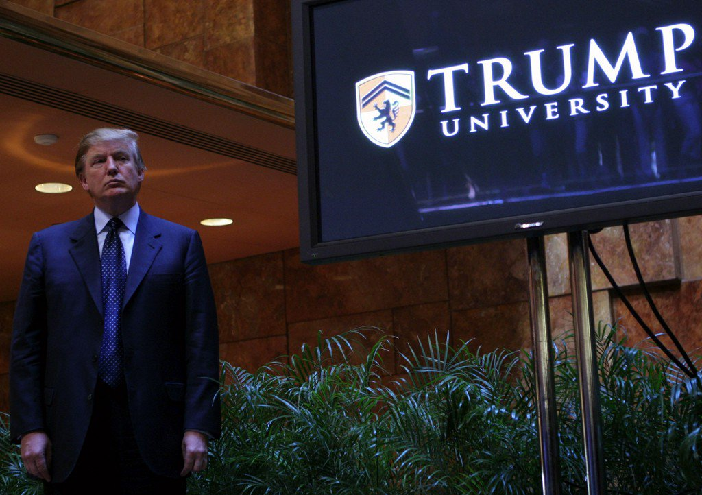 Judge weighs an objection to the Trump University deal