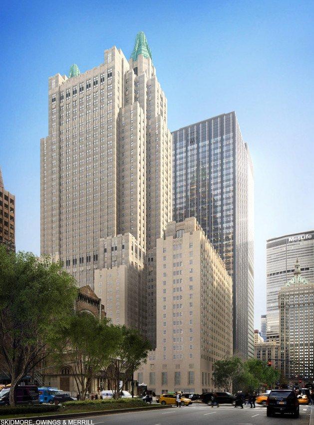 NYウォルドーフ・アストリア、改装後の姿【#写真】中国の安邦保険集団に買収された同ホテルは今後、れんがの色などもオリジナルのデザインに合わせて一新される予定