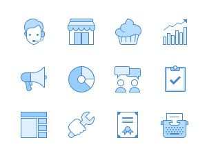 Ultraviolet: 60 Business Icons free freebie freebies