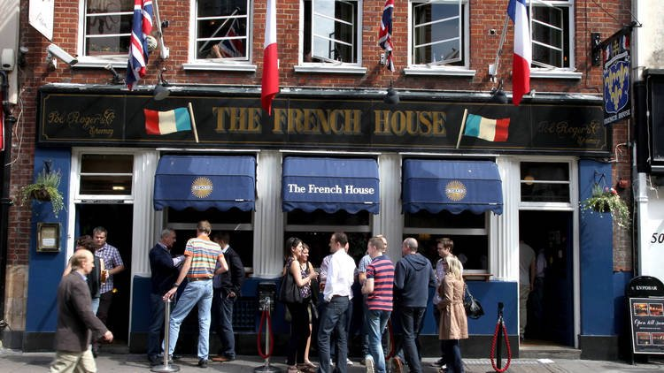 French House London's Best Places to Drink Like it's the Forties