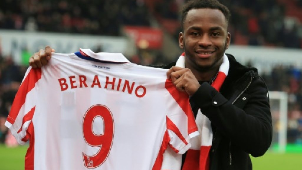 Drugs ban came from spiked drink, says Stoke's Berahino