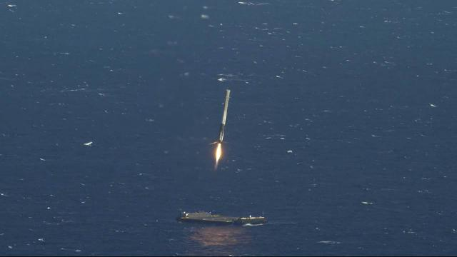 .@SpaceX makes history with the successful launch and retrieval of its first recycled rocket